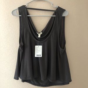 Silence + Noise new with tag tank top grey Sm